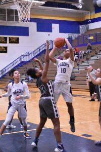 Girls Varsity Basketball loss to Michigan City