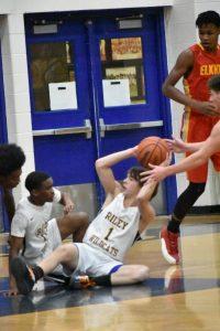 Boys JV Basketball win over Elkhart Memorial