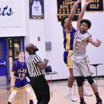 Freshmen boys basketball against Clay