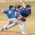 JV baseball against Ekhart Memorial