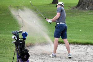 Jimtown, Clay and Riley at Elbel Golf Course