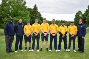 Senior Golf Day against Elkhart Memorial