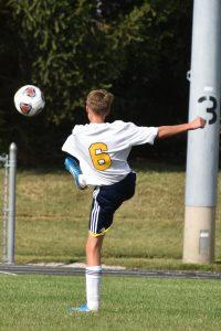 Boys JV Soccer at Adams