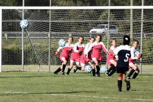 Girls Soccer WIN against Jimtown
