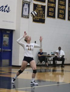 Ladycats topple the Eagles 3-1.