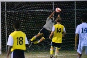 Varsity Soccer against Mishawaka Marian
