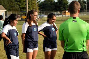 Girls Soccer against Elkhart Central