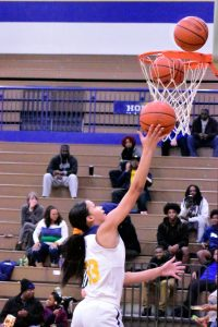 Riley Varsity Girls Basketball win over Career Academy