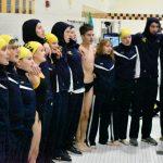 Girls swim against Elkhart Central