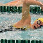 Girls Swimming at Washington