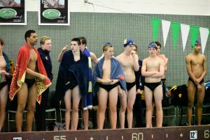 Boys swimming at Washington High School