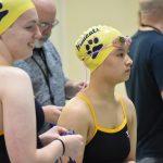 Girls swim against Goshen