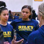 Girls Varsity basketball against Elkhart Central