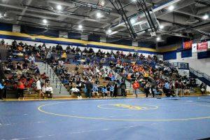 JV wrestling at Riley