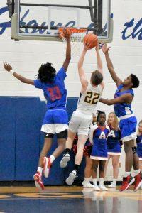 Boys JV Basketball against Adams