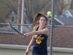 """Allison Pflugner 2021 NIC All Conference Tennis Team"""