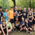 Boys Varsity Cross Country finishes 1st place at Antwerp Invite