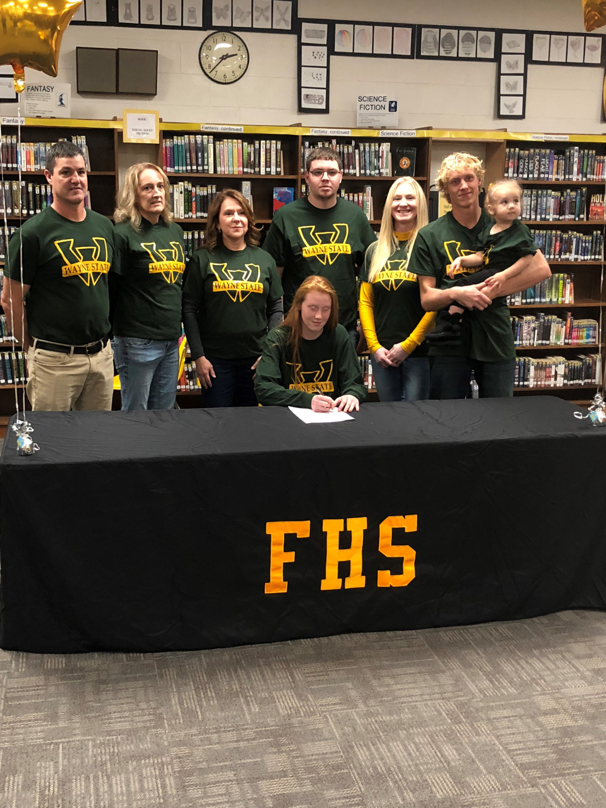 Mercedes Wagner Signs with Wayne State University