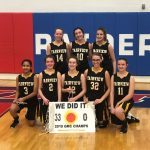 8th Grade Girls win GMC
