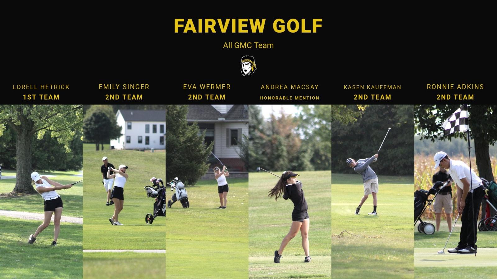 Fairview Golfers Earn All GMC Honors