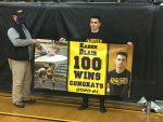 Blair records 100th victory