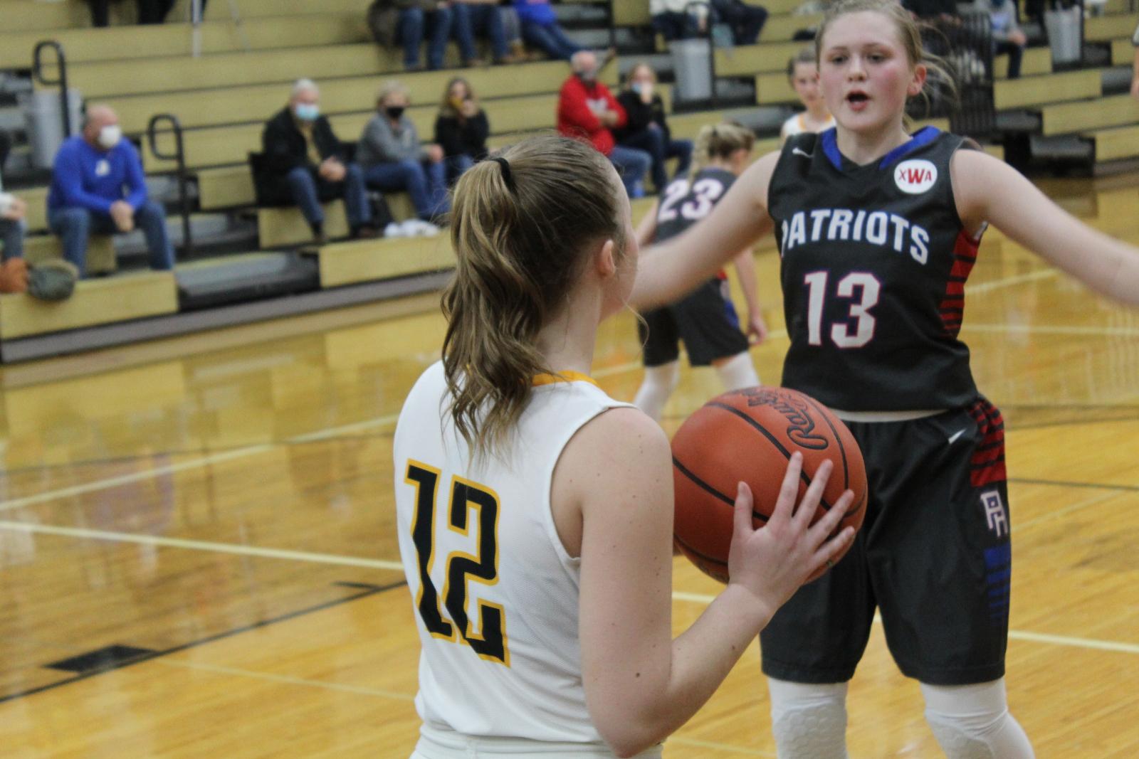 Girls JV Basketball 20-21