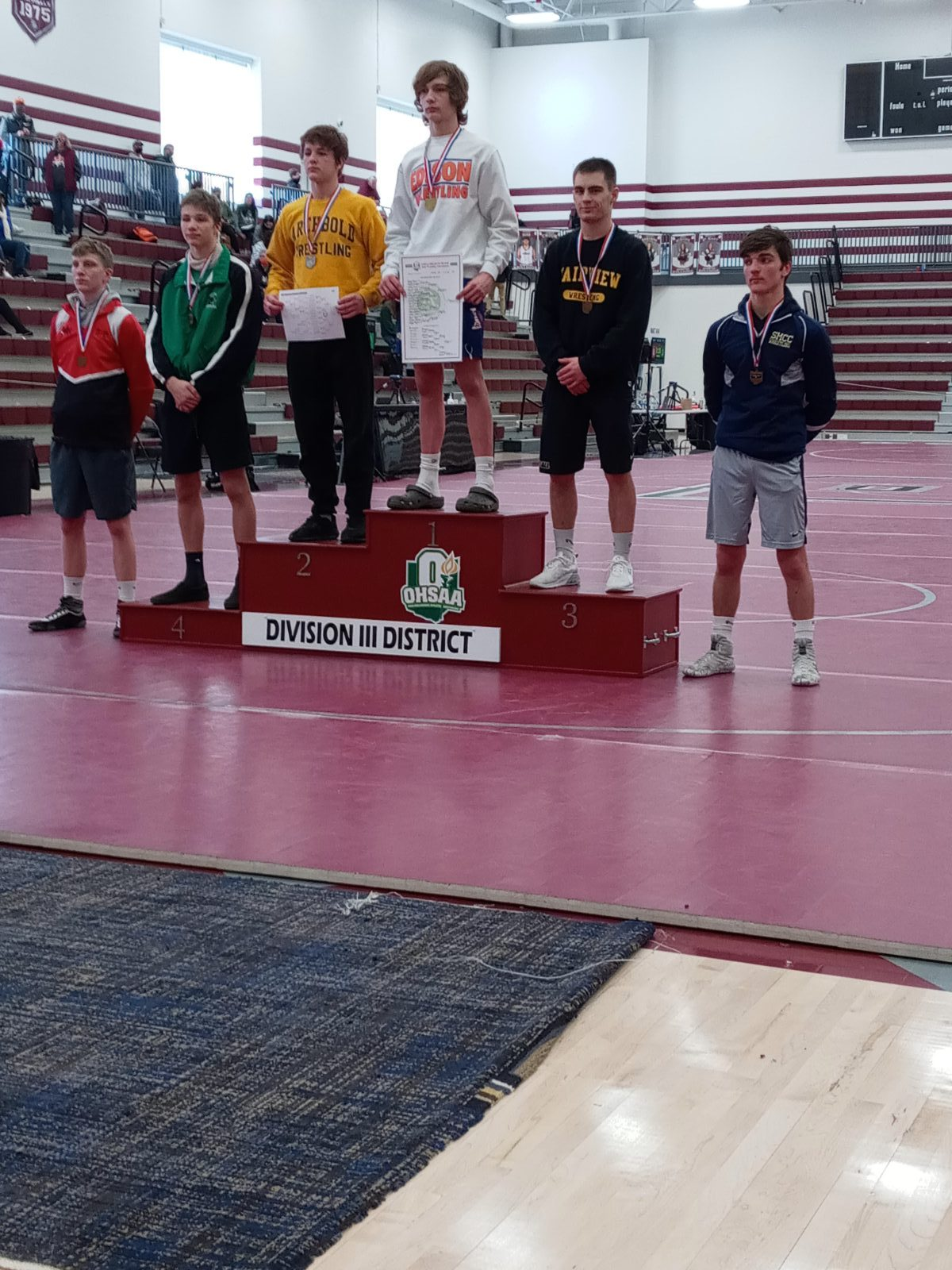 Kaden Blair Advances to State Wrestling Tournament, Wes Bany is alternate