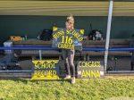 Ankney Sets School Record