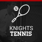 Lady Knights Tennis Team Falls to Patriots