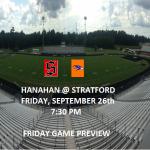 Friday Football Preview: Stratford vs Hanahan