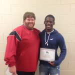 Xavier Young is week 3 Sportsmanship Player of the Week