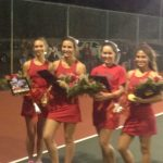 Tennis Honors Seniors, Will Take on Bluffton in 1st rd of Playoffs