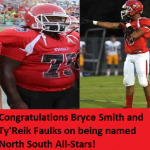 Congratulations to our North South Football Selections