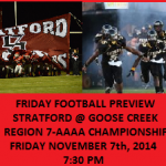 Friday Football Preview: Goose Creek