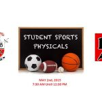 Free Athletic Physicals: May 2nd
