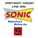 JV Softball Sonic Night: Tuesday 3/17 4PM-9PM