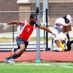 Deveaux Sets New School Record; Boy's Track Wins Father Kelly