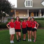 Girls Golf Team Places 2nd