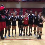 Volleyball Sweeps on Senior Knight