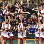 Competition Cheer Season Ends at State Qualifier
