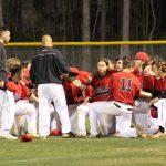 Stratford High School Varsity Baseball beat James Island Charter High School 2-1