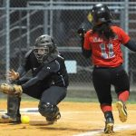 Lady Knights Defeat Goose Creek In Softball 13-1
