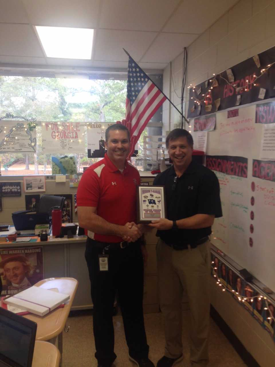 Coach Cate Named Coach of Year