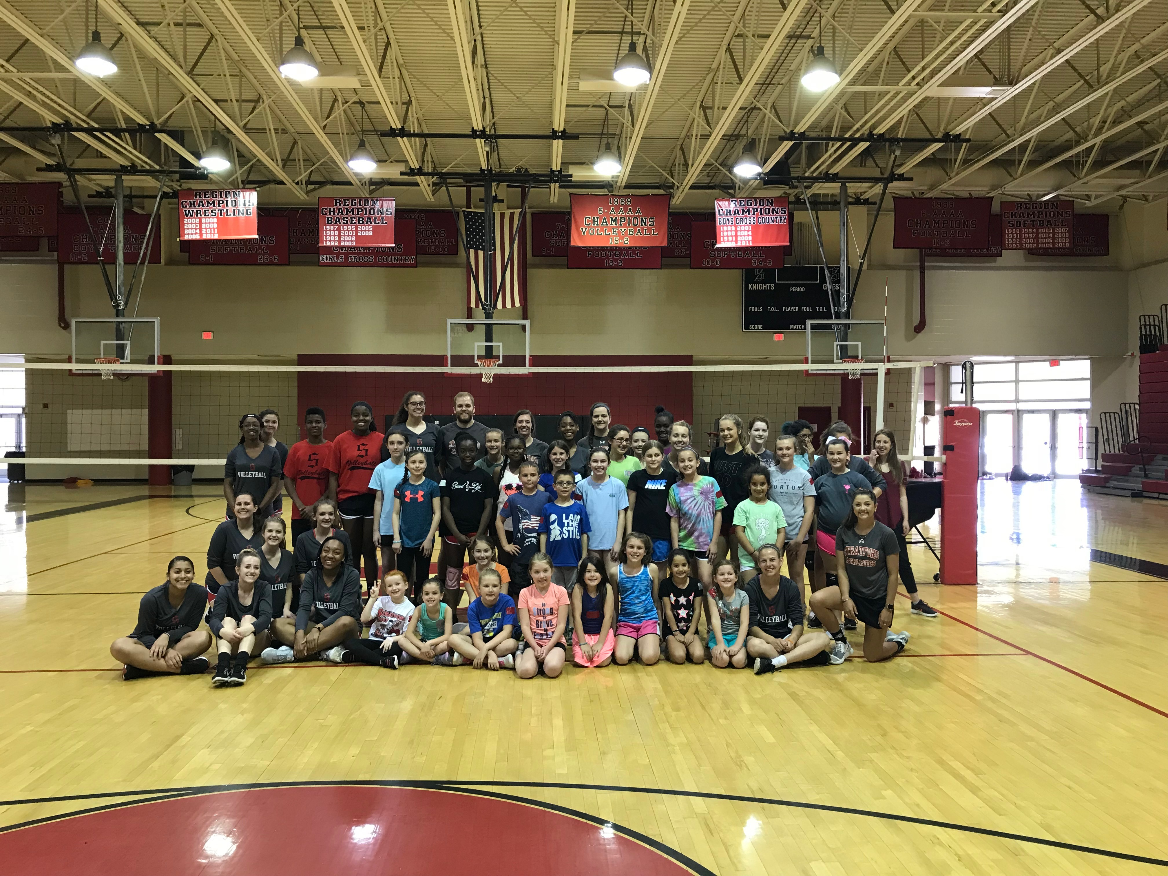 DON'T MISS OUT:  Stratford Summer Volleyball Camp!