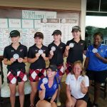 Girls Varsity Golf finishes 4th place at Region 7 Tournament