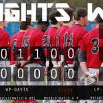 Knights Get Strong Pitching Performance, Defeat James Island 3-1