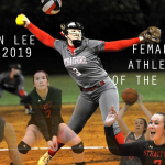 Anderson, Lee, Lott Named 2018-2019 Athletes of the Year