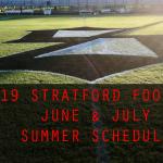 Football Sets Summer Dates (High School Football Players June & July Calendars)