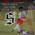 Boy's Soccer Player Jonas DaSilva Named to South Soccer Team for North/South All-Star Game