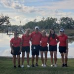 Girls Varsity Golf finishes 2nd place at Region 7AAAAA Tournament